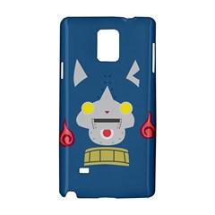 Robonyann Reverse Print Samsung Galaxy Note 4 Hardshell Case