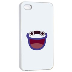 Whisper Reverse Print Apple iPhone 4/4s Seamless Case (White)