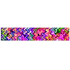 Swirly Twirly Colors Flano Scarf (Large)