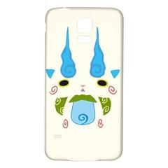 Komasann Reverse Print Samsung Galaxy S5 Back Case (white)
