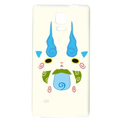 Komasann Reverse Print Galaxy Note 4 Back Case