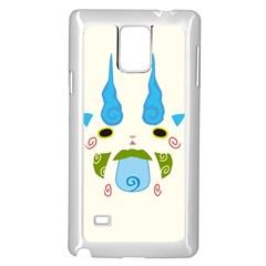 Komasann Reverse Print Samsung Galaxy Note 4 Case (White)