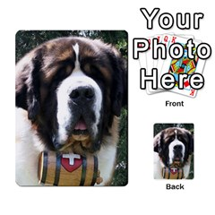 St Bernard Multi-purpose Cards (Rectangle)