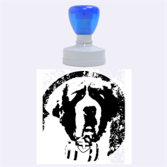 St Bernard Rubber Round Stamps (Large)
