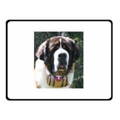 St Bernard Double Sided Fleece Blanket (Small)