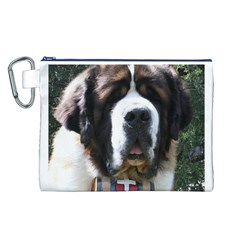 St Bernard Canvas Cosmetic Bag (L)