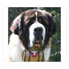 St Bernard Double Sided Flano Blanket (Small)