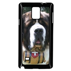 St Bernard Samsung Galaxy Note 4 Case (Black)