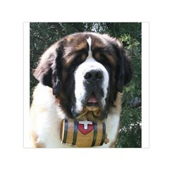St Bernard Small Satin Scarf (Square)