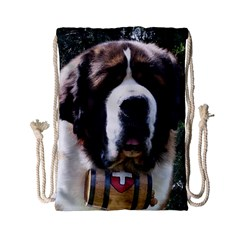 St Bernard Drawstring Bag (Small)