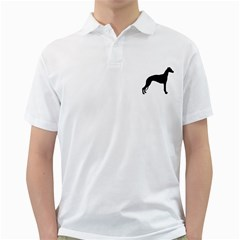 Whippet Silhouette Golf Shirts