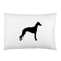 Whippet Silhouette Pillow Cases