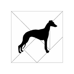 Whippet Silhouette Acrylic Tangram Puzzle (4  x 4 )