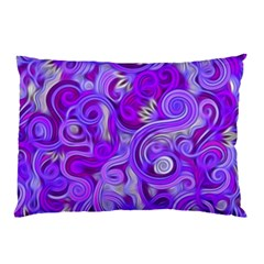 Lavender Swirls Pillow Cases