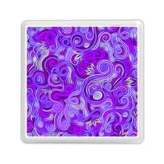 Lavender Swirls Memory Card Reader (Square)