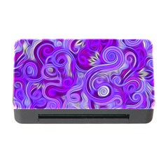 Lavender Swirls Memory Card Reader with CF
