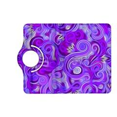 Lavender Swirls Kindle Fire HD (2013) Flip 360 Case