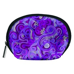 Lavender Swirls Accessory Pouches (medium)
