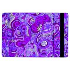 Lavender Swirls iPad Air 2 Flip