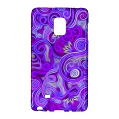 Lavender Swirls Galaxy Note Edge
