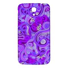 Lavender Swirls Samsung Galaxy Mega I9200 Hardshell Back Case
