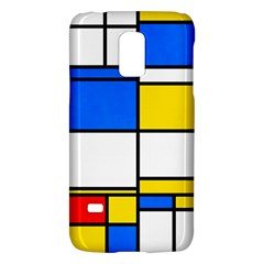 Colorful rectanglesSamsung Galaxy S5 Mini Hardshell Case