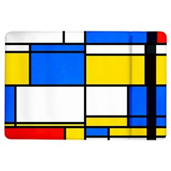 Colorful Rectangles	apple Ipad Air Flip Case