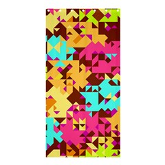 Shapes in retro colorsShower Curtain 36  x 72