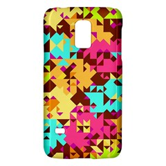Shapes in retro colorsSamsung Galaxy S5 Mini Hardshell Case