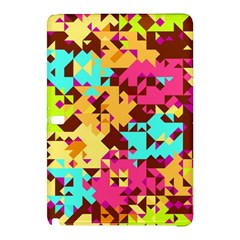 Shapes In Retro Colorssamsung Galaxy Tab Pro 10 1 Hardshell Case