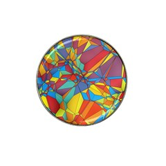 Colorful Miscellaneous Shapes Hat Clip Ball Marker (4 Pack)