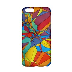 Colorful miscellaneous shapes Apple iPhone 6 Hardshell Case