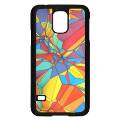 Colorful miscellaneous shapes	Samsung Galaxy S5 Case