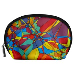 Colorful Miscellaneous Shapes Accessory Pouch