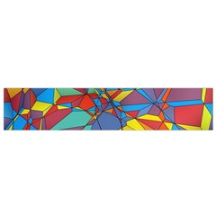Colorful Miscellaneous Shapes Flano Scarf