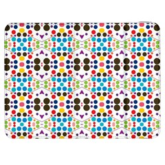 Colorful Dots Pattern Samsung Galaxy Tab 7  P1000 Flip Case