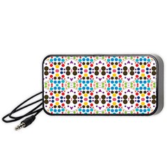 Colorful Dots Pattern Portable Speaker