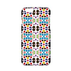 Colorful dots pattern Apple iPhone 6 Hardshell Case