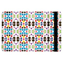 Colorful Dots Pattern	apple Ipad Air Flip Case