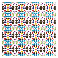 Colorful dots pattern Satin Scarf
