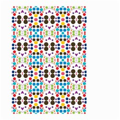 Colorful Dots Pattern Small Garden Flag