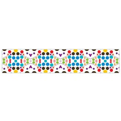 Colorful dots pattern Flano Scarf