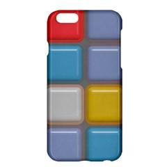 Shiny Squares patternApple iPhone 6 Plus Hardshell Case