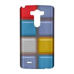 Shiny Squares pattern LG G3 Hardshell Case