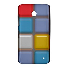 Shiny Squares pattern Nokia Lumia 630 Hardshell Case