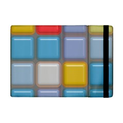 Shiny Squares Pattern	apple Ipad Mini 2 Flip Case