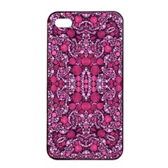 Crazy Beautiful Abstract  Apple iPhone 4/4s Seamless Case (Black)