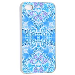 Crazy Beautiful Abstract  Apple Iphone 4/4s Seamless Case (white)