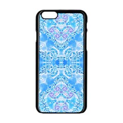 Crazy Beautiful Abstract  Apple Iphone 6 Black Enamel Case