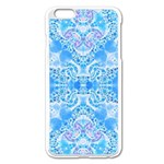 Crazy Beautiful Abstract  Apple iPhone 6 Plus Enamel White Case Front
